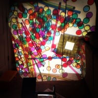 colors on the overhead projector